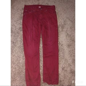 True Religion Jeans - Men's True Religion red jeans
